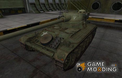 Исторический камуфляж AMX 13 90 для World of Tanks