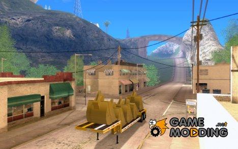 Полуприцеп Artict2 для GTA San Andreas