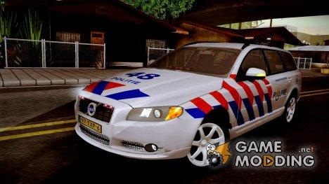 Volvo V70 LE Politie for GTA San Andreas