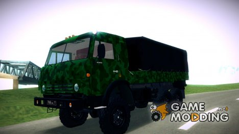 Армейский КАМАЗ 4310 для GTA San Andreas