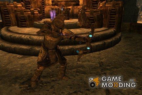 Этериевый лук и стрелы для TES V Skyrim