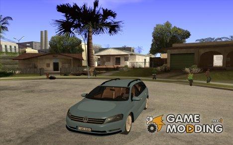 Volkswagen Passat B7 2012 для GTA San Andreas