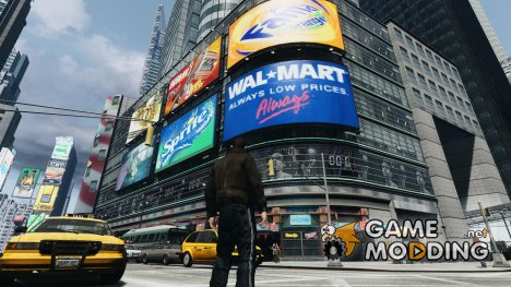 Real Time Square mod для GTA 4