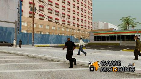 GTA IV anim work with muscle для GTA San Andreas