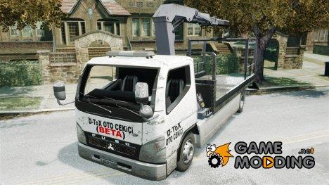 Mitsubishi Fuso Эвакуатор for GTA 4