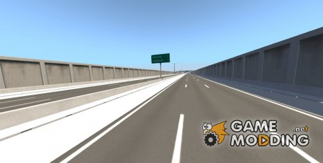 Matrix Freeway for BeamNG.Drive