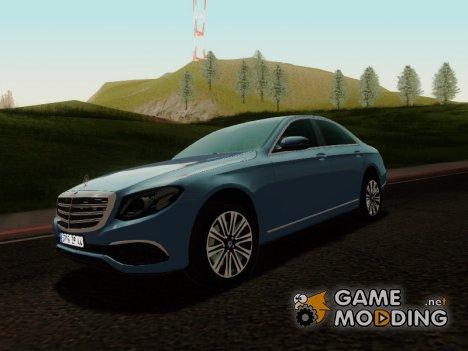 Mercedes-Benz E350 2016 для GTA San Andreas