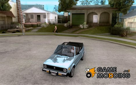 Volkswagen Rabbit Convertible для GTA San Andreas