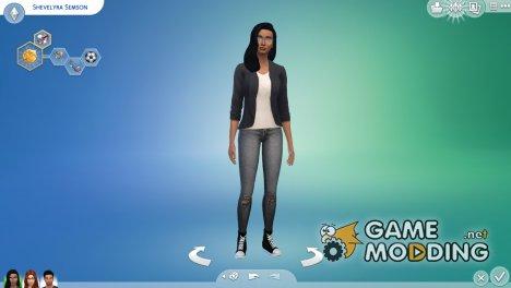 Джинсы для Sims 4