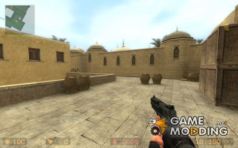 Black U.S.P for Counter-Strike Source