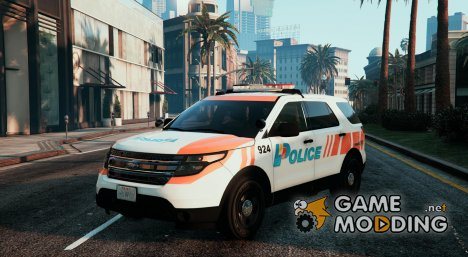 Ford Explorer Swiss - GE Police для GTA 5