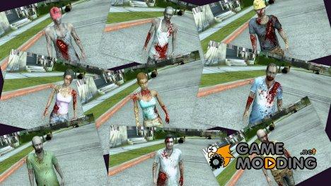 Зомби из сценария Operation Javier из Resident evil: The Darkside cronicles for GTA San Andreas