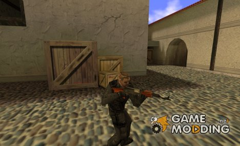 sas without mask для Counter-Strike 1.6