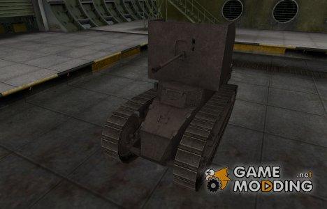 Перекрашенный французкий скин для Renault FT AC для World of Tanks