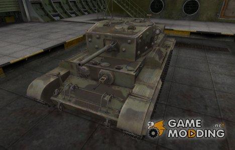 Пустынный скин для Cromwell для World of Tanks