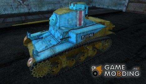 M3 Stuart PROHOR1981 для World of Tanks