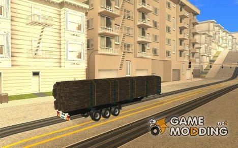 Прицеп KRONE лесовоз для GTA San Andreas