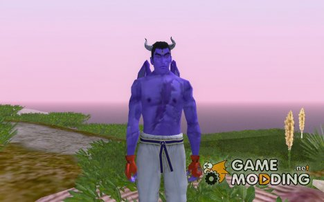 Devil Kazuya Mishima для GTA San Andreas