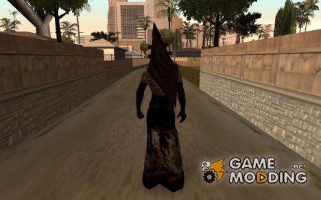 Пирамидоголовый из Сайлент Хилла. для GTA San Andreas