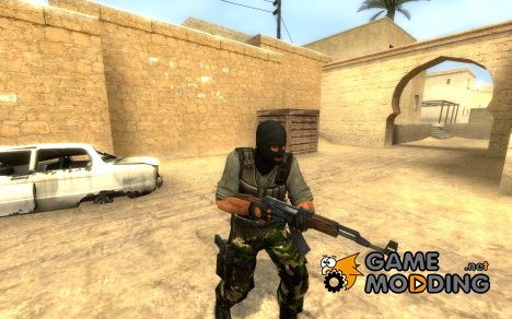 Undeads Grey Shirted Terrorists for Counter-Strike Source