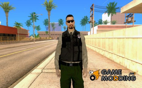 Новый скин полицейского для GTA San Andreas