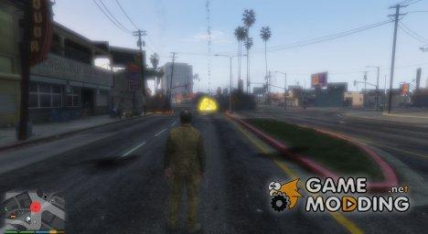 Авиаудар v1.1 для GTA 5