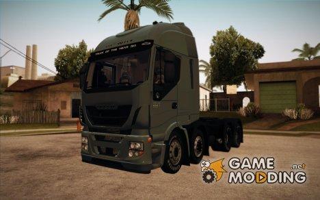 Iveco Stralis Hi-WAY 8x4 Version Snow для GTA San Andreas