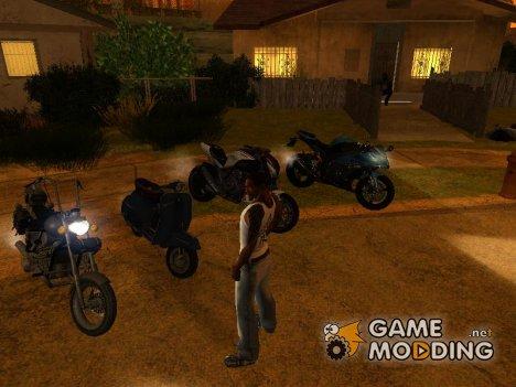Пак мотоциклов и велосипедов by Babayka v.2 для GTA San Andreas