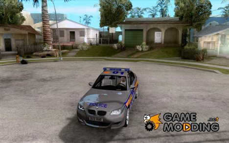 Metropolitan Police BMW 5 Series Saloon for GTA San Andreas