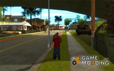 Поцелуи for GTA San Andreas