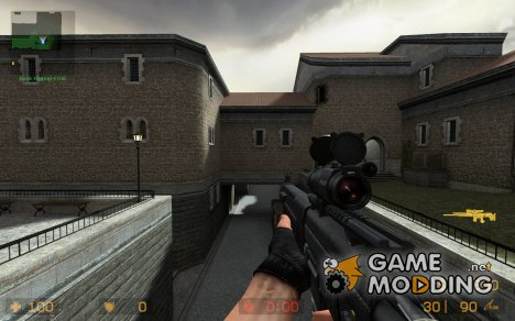 PhillBuster's SG556 для Counter-Strike Source