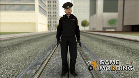 Полковник МВД в зимней форме for GTA San Andreas