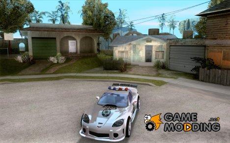 Chevrolet Corvette C6 Police Рядовой (NFS MW) для GTA San Andreas