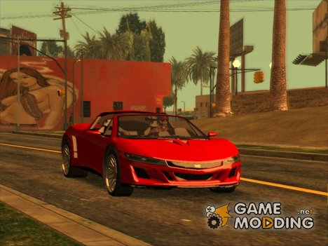 GTA 5 Dinka Jester Spider IVF for GTA San Andreas