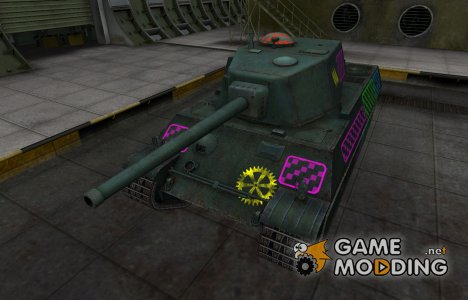 Качественные зоны пробития для AMX M4 mle. 45 for World of Tanks