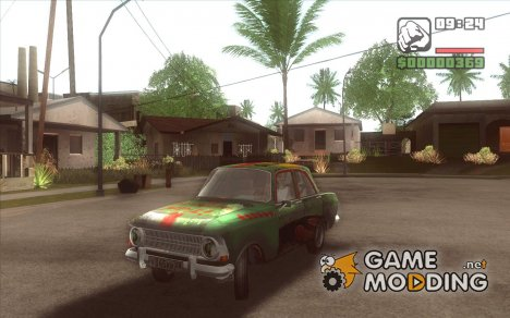 Москвич 412 bloodring for GTA San Andreas