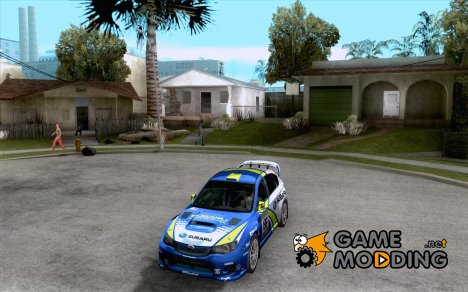 Subaru impreza Tarmac Rally for GTA San Andreas