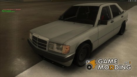 Mercedes 190e drift for GTA San Andreas