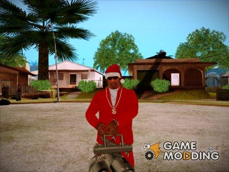 Новогодняя шапка for GTA San Andreas
