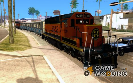 Локомотив SD 40 Union Pacific BNSF для GTA San Andreas