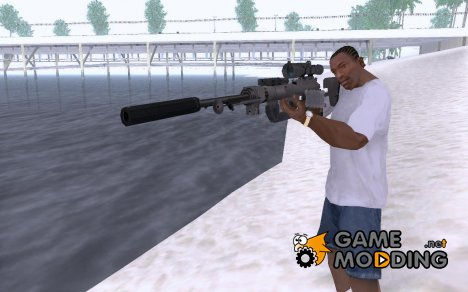 Снайперская винтовка из CoD MW 2 for GTA San Andreas