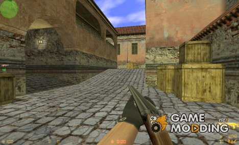 Z3RO Double Barrel Shotgun (1.6 version) for Counter-Strike 1.6