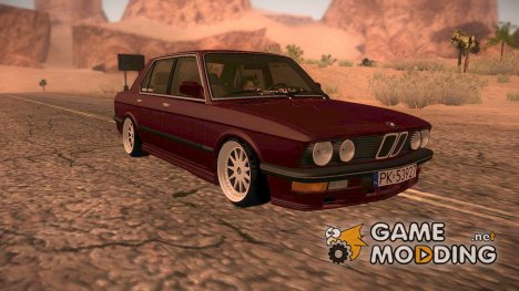 BMW E28 for GTA San Andreas