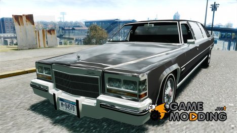 Cadillac Fleetwood Limousine 1985 [Final] for GTA 4