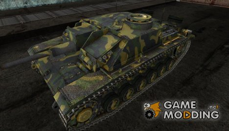 StuG III LEO5320 for World of Tanks