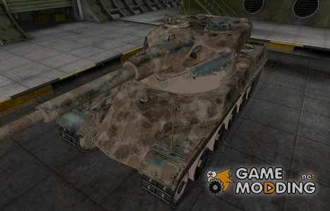 Французкий скин для AMX 50 120 для World of Tanks