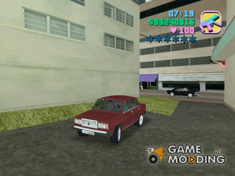 ВАЗ 2107 Жигули for GTA Vice City
