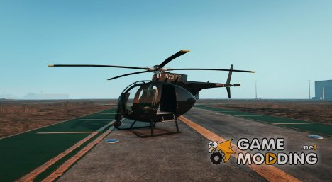Hughes OH-6 Cayuse 0.01 for GTA 5