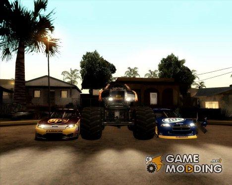 Пак от Ricooo для GTA San Andreas