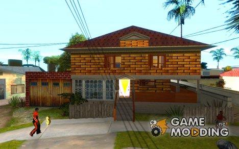 Замена всего дома CJея for GTA San Andreas